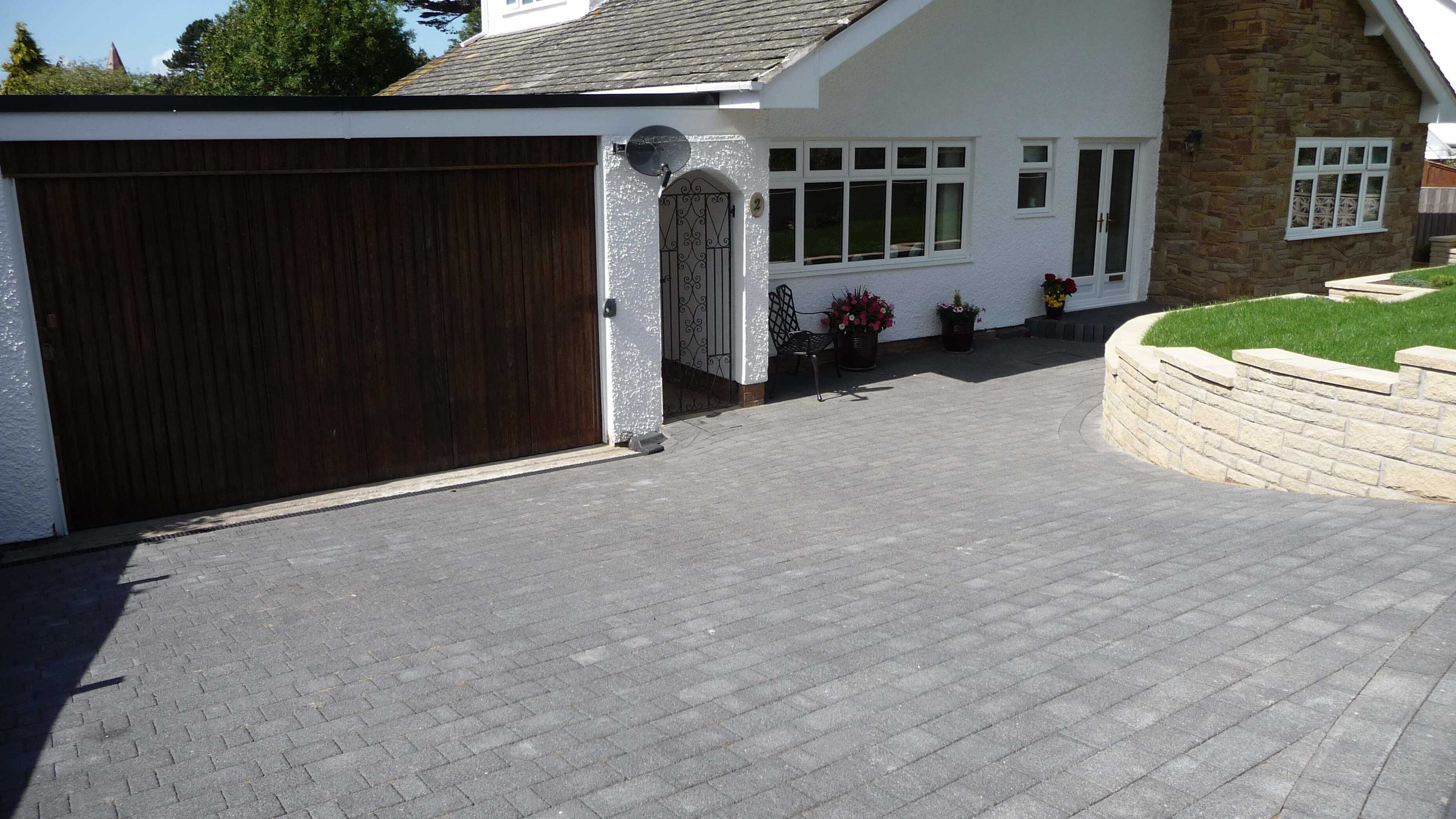 Marshalls Driveway builders north wales