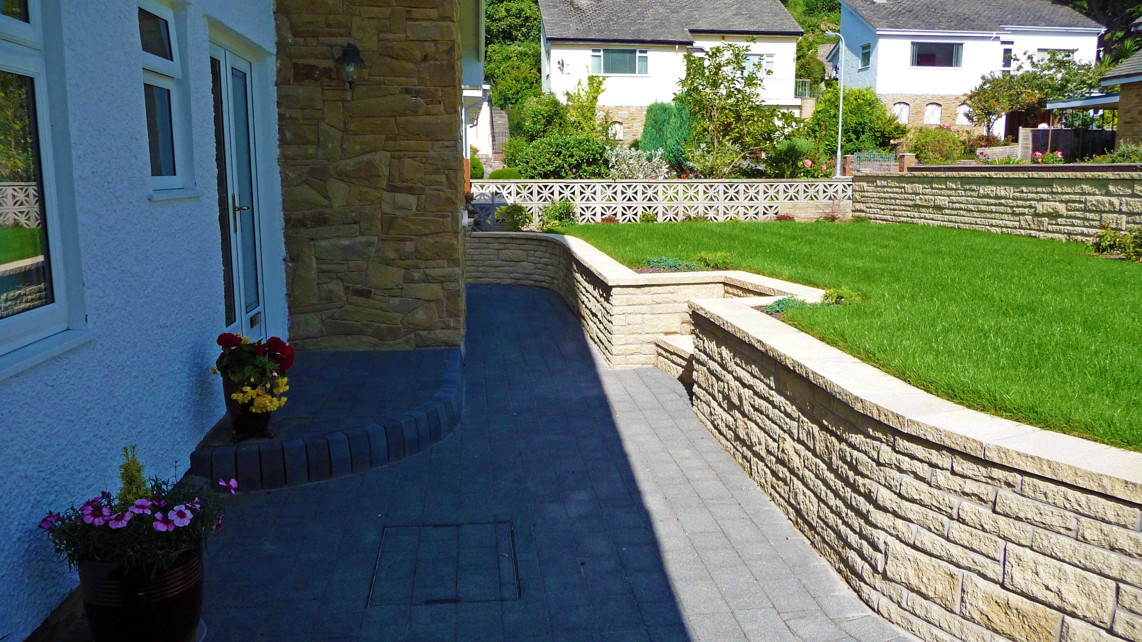 Landscape gardener north wales