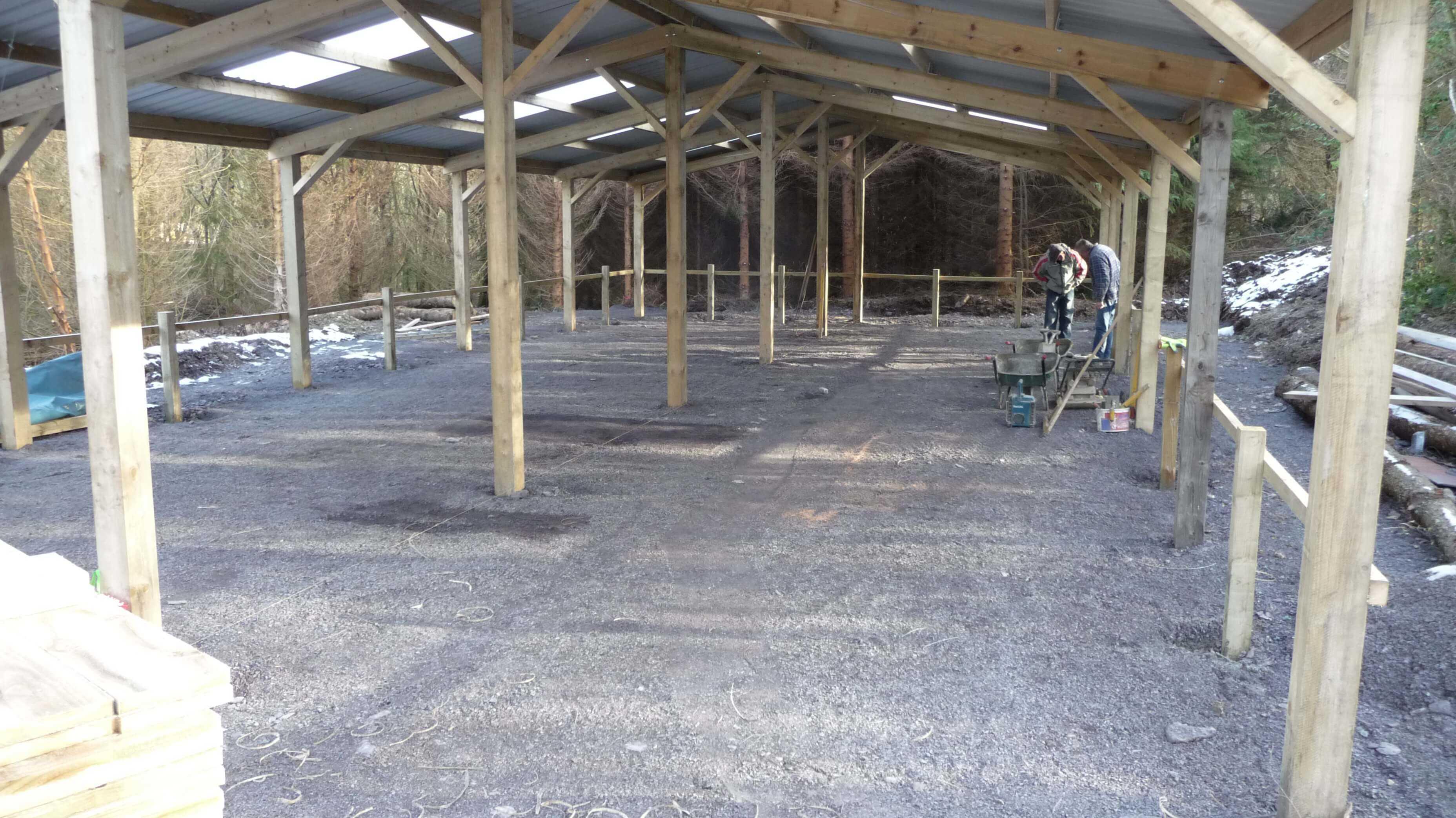 north wales barn conversion