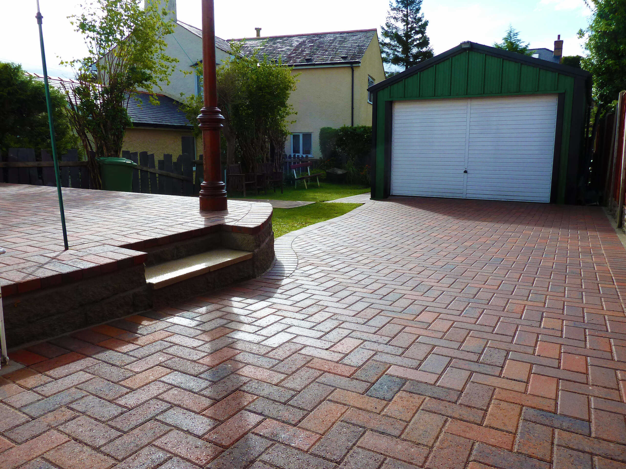 Block Paving North Wales