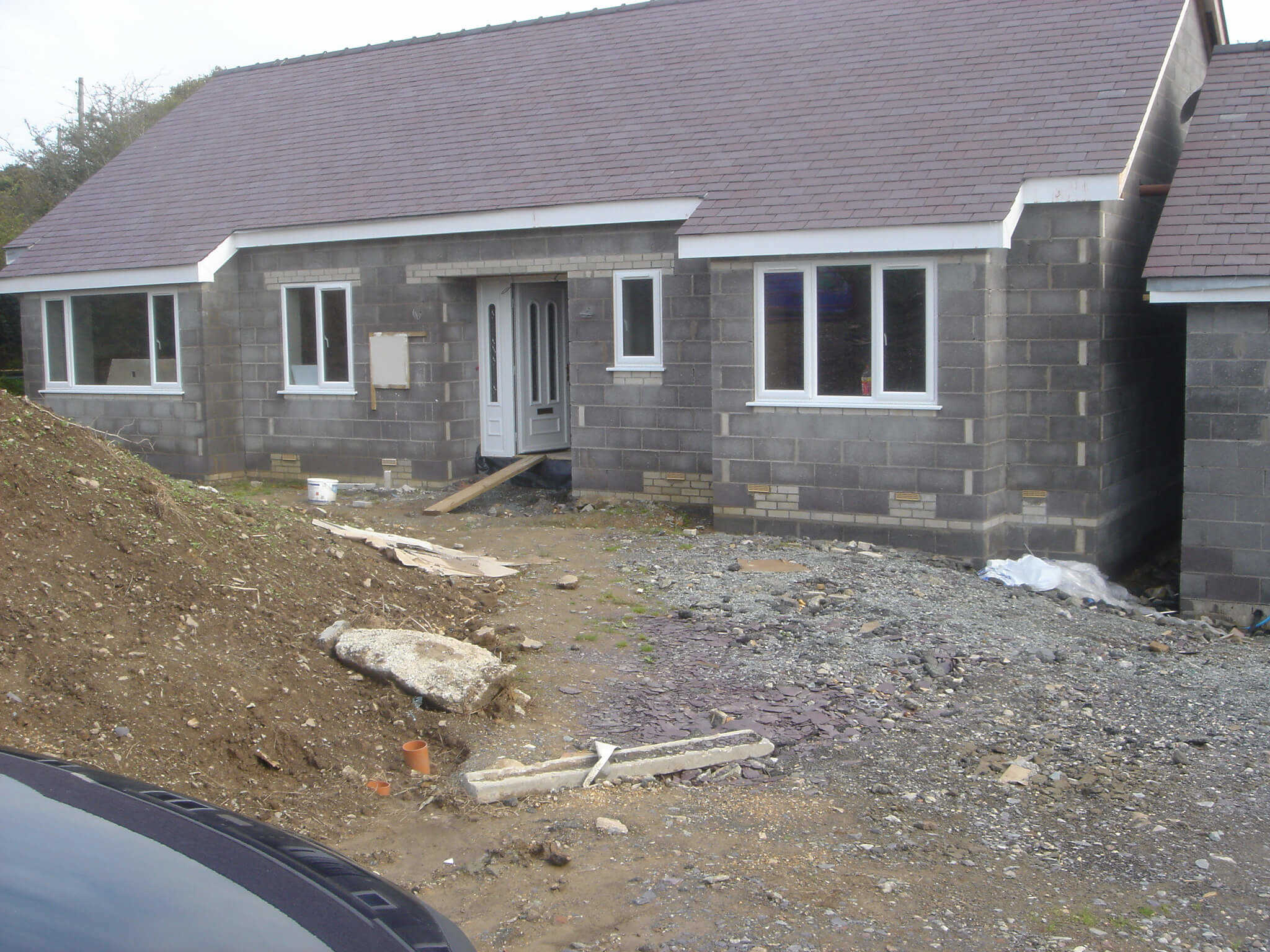 Building project north wales