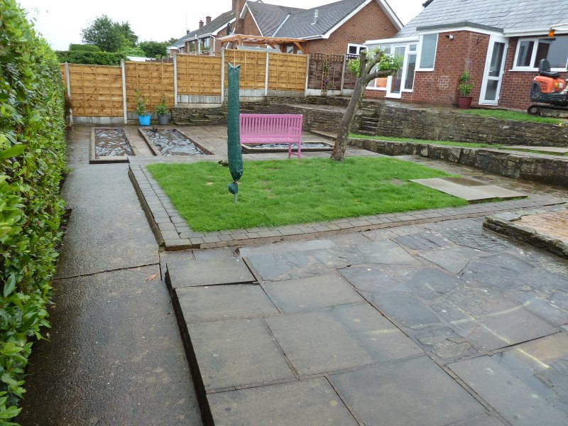 Landscape garden cheshire