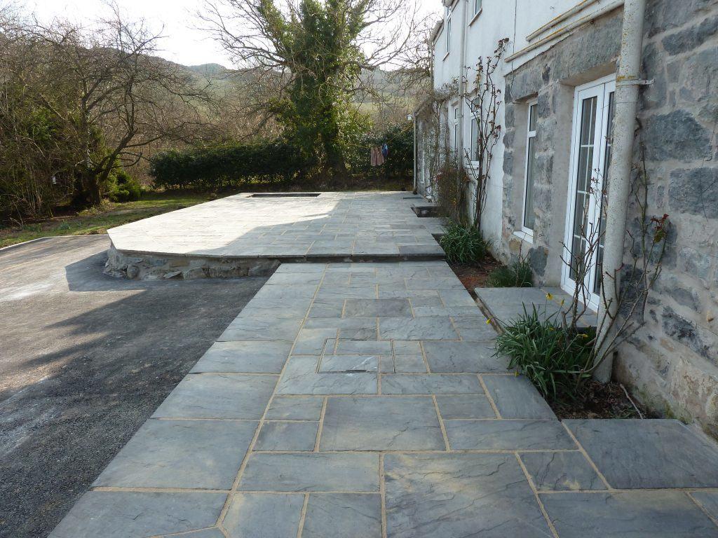 heritage stone patio