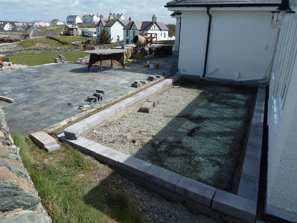trearddur bay in progress