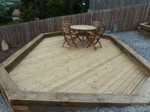 New decking north wales