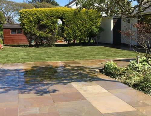 Sandstone Patio – Cricceth, North Wales