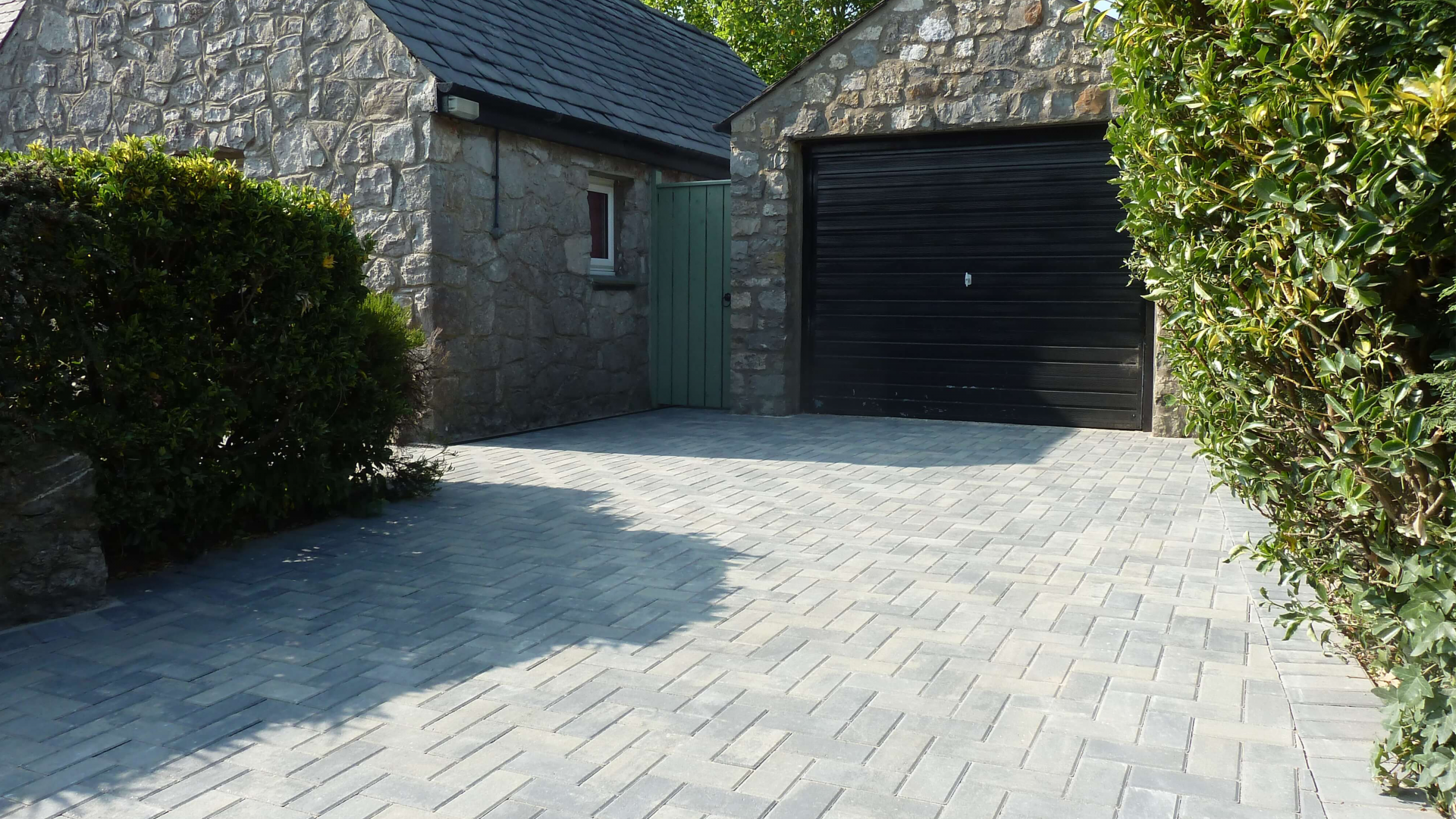 New driveway & Garden Paths - North Wales