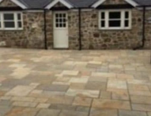 Courtyard Paving – North Wales