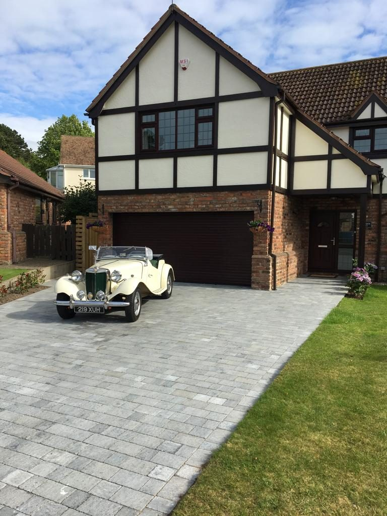 block paving driveway installer