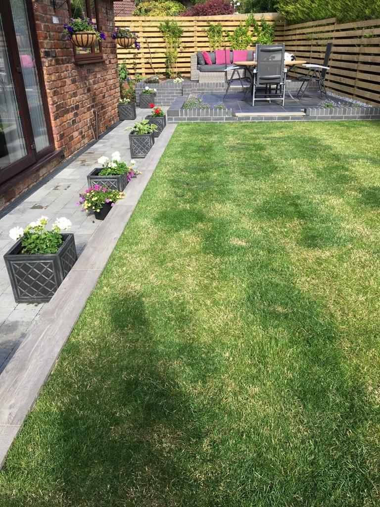 Deganwy new lawn