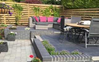 patio and landscaping deganwy