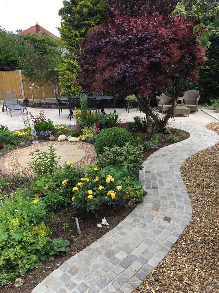 Rhos on sea back garden renovation