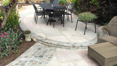 new patio north wales