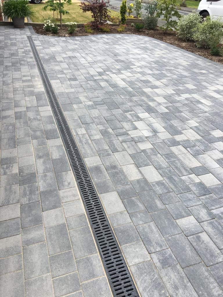 extended new driveway north wales
