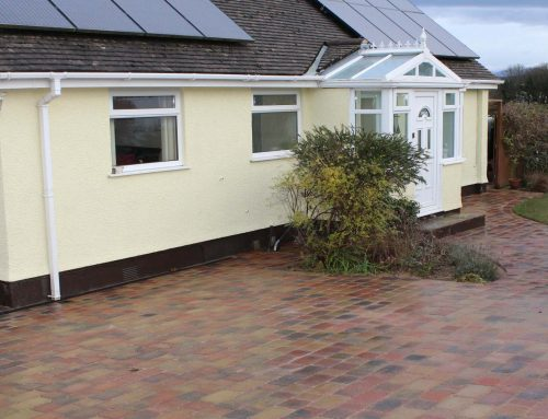 New Block Paving Driveway and Paths – Benllech North Wales