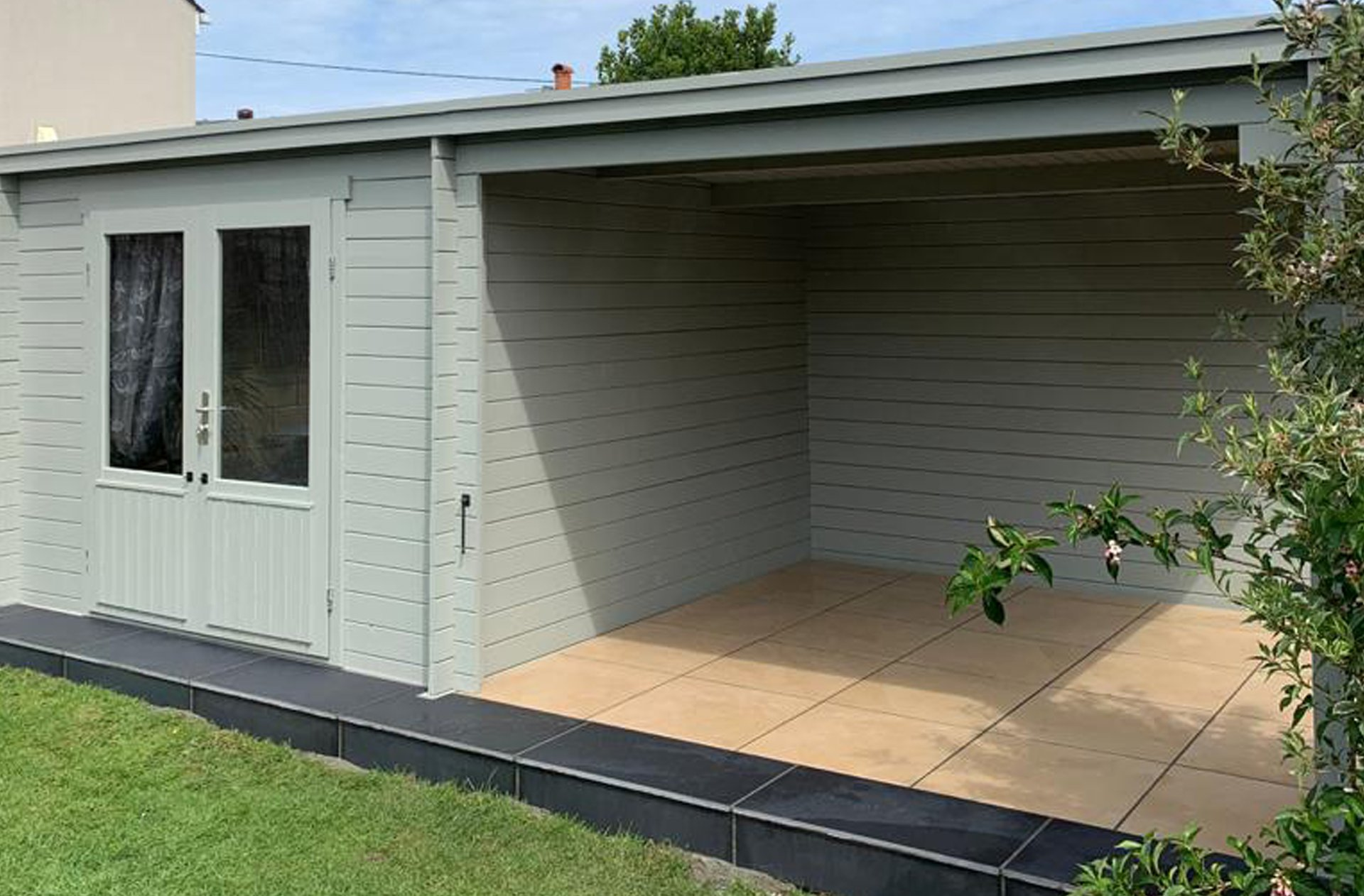 Garden Outbuilding transformation