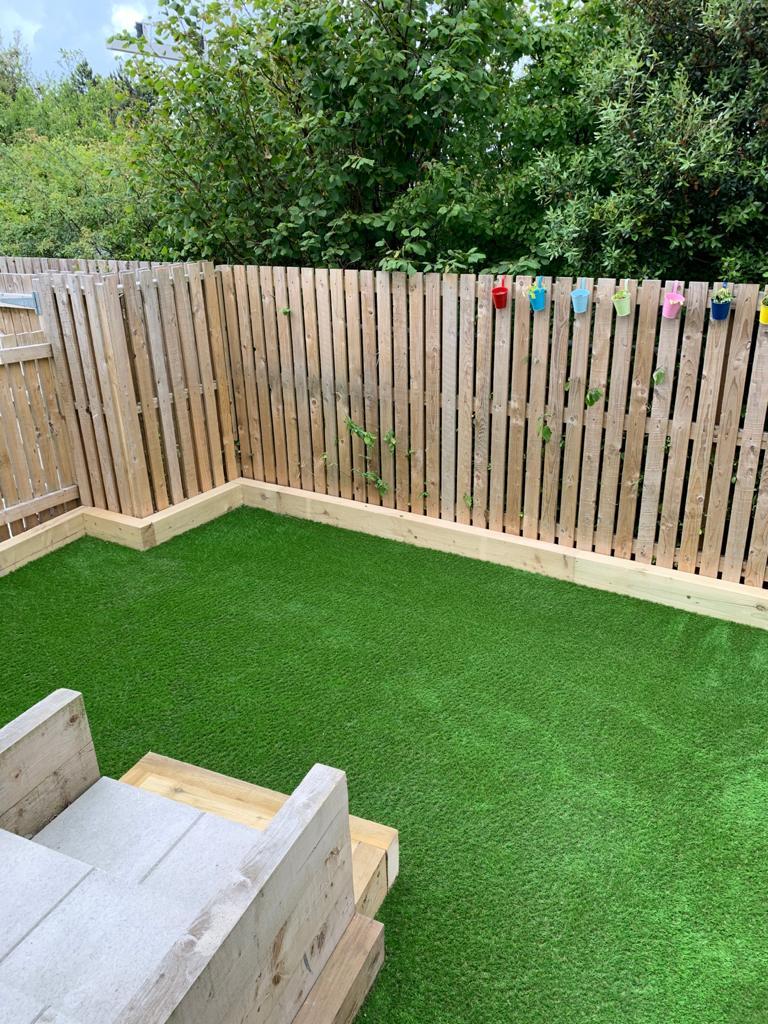 artificial grass garden north wales